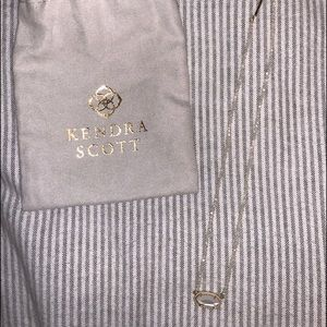 Kendra Scott White beaded necklace